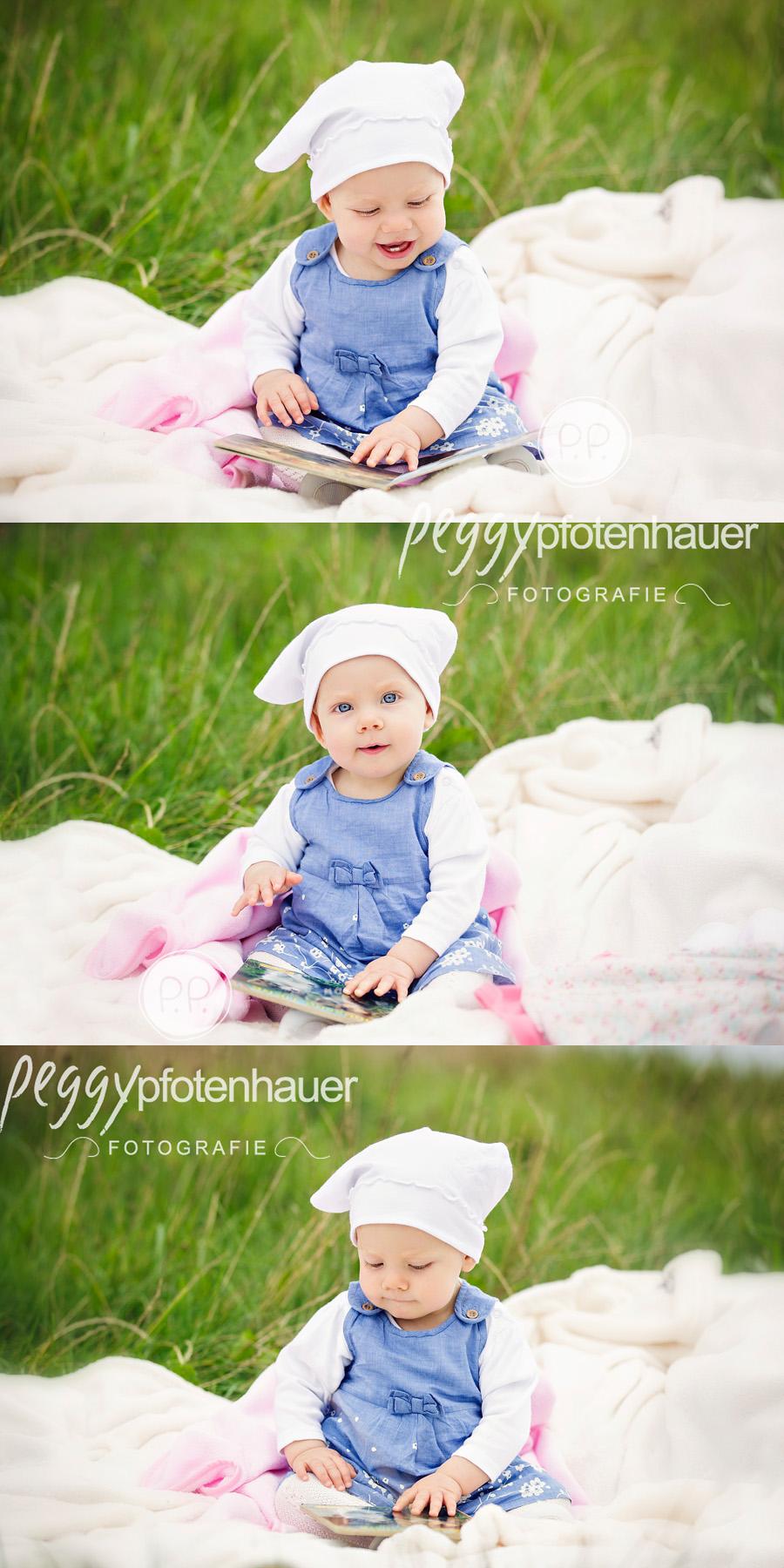 Babyfotos in der Natur, natürliche Babybilder Bamberg, Babyfotograf Bamberg