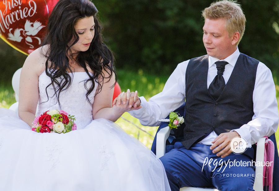 Hochzeitsbilder in der Natur, Fotografie freie Trauung