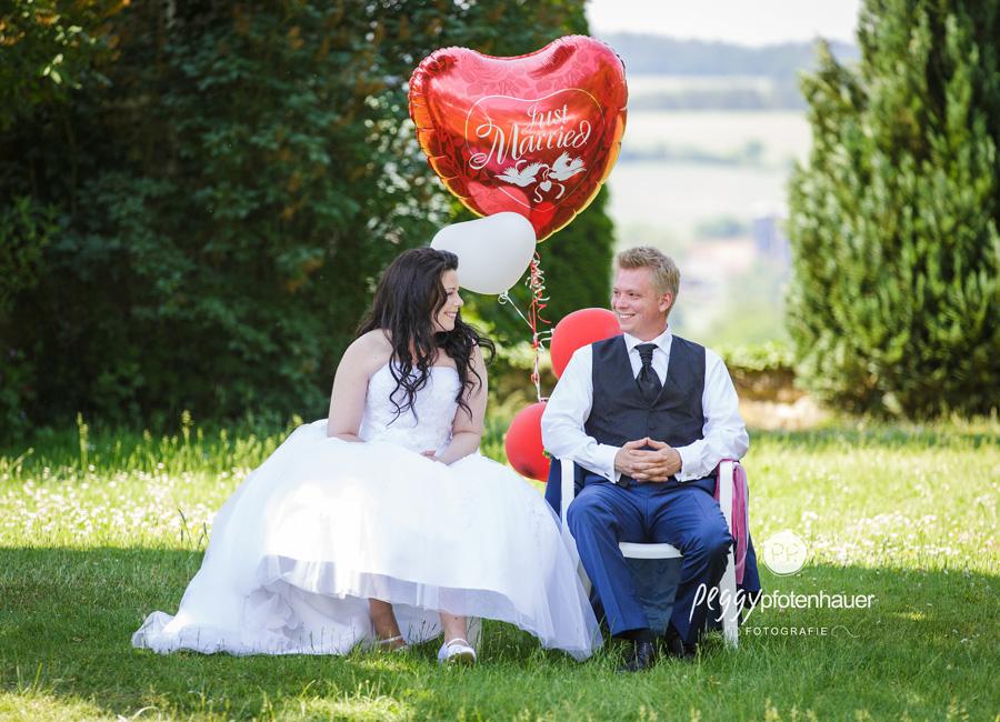Trauung im Freien fotografieren, Hochzeitsportraits
