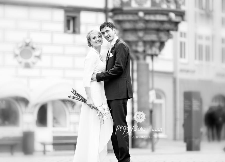 stilvolle Hochzeitsportraits Coburg, Hochzeitsfotograf Schweinfurt