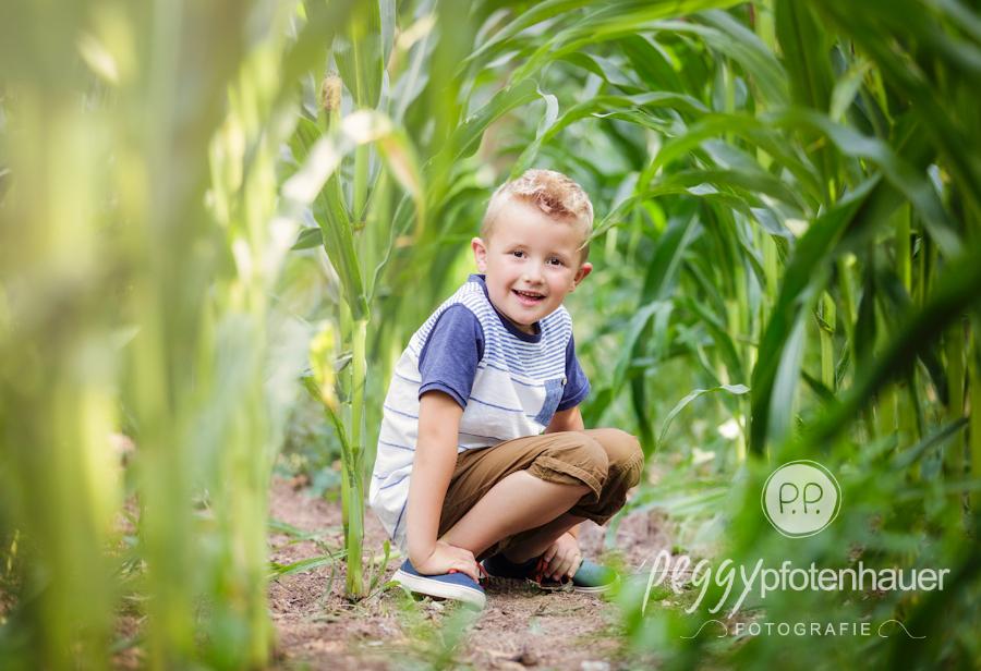Kinderbilder Bayreuth, Kinderfotos in der Natur bei Bamberg