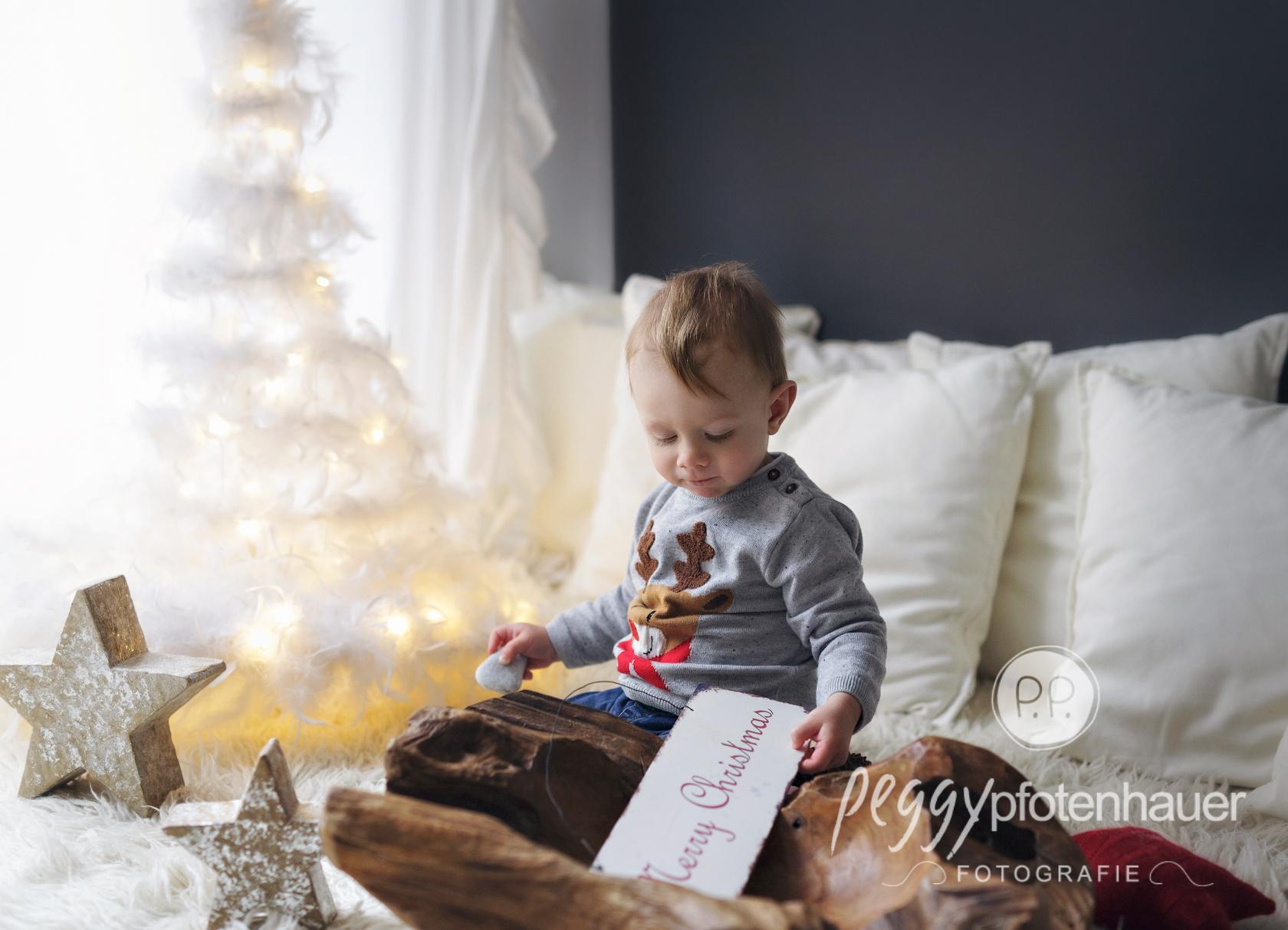 weihnachtliche Kinderfotos - Fotograf Bamberg