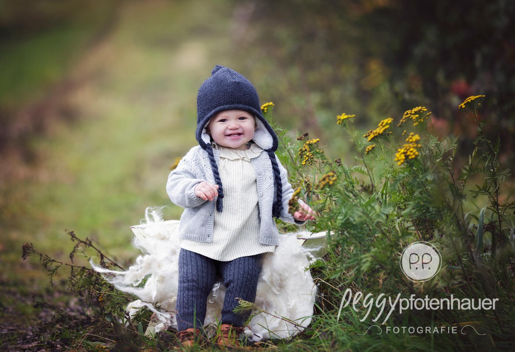 Babybilder in der Natur