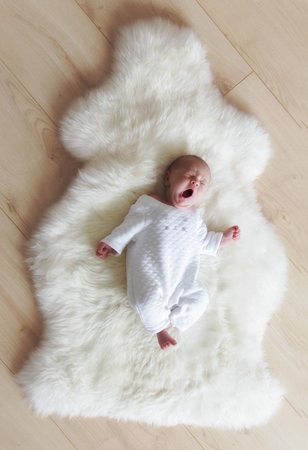 Babyfotos im eigenen Haus