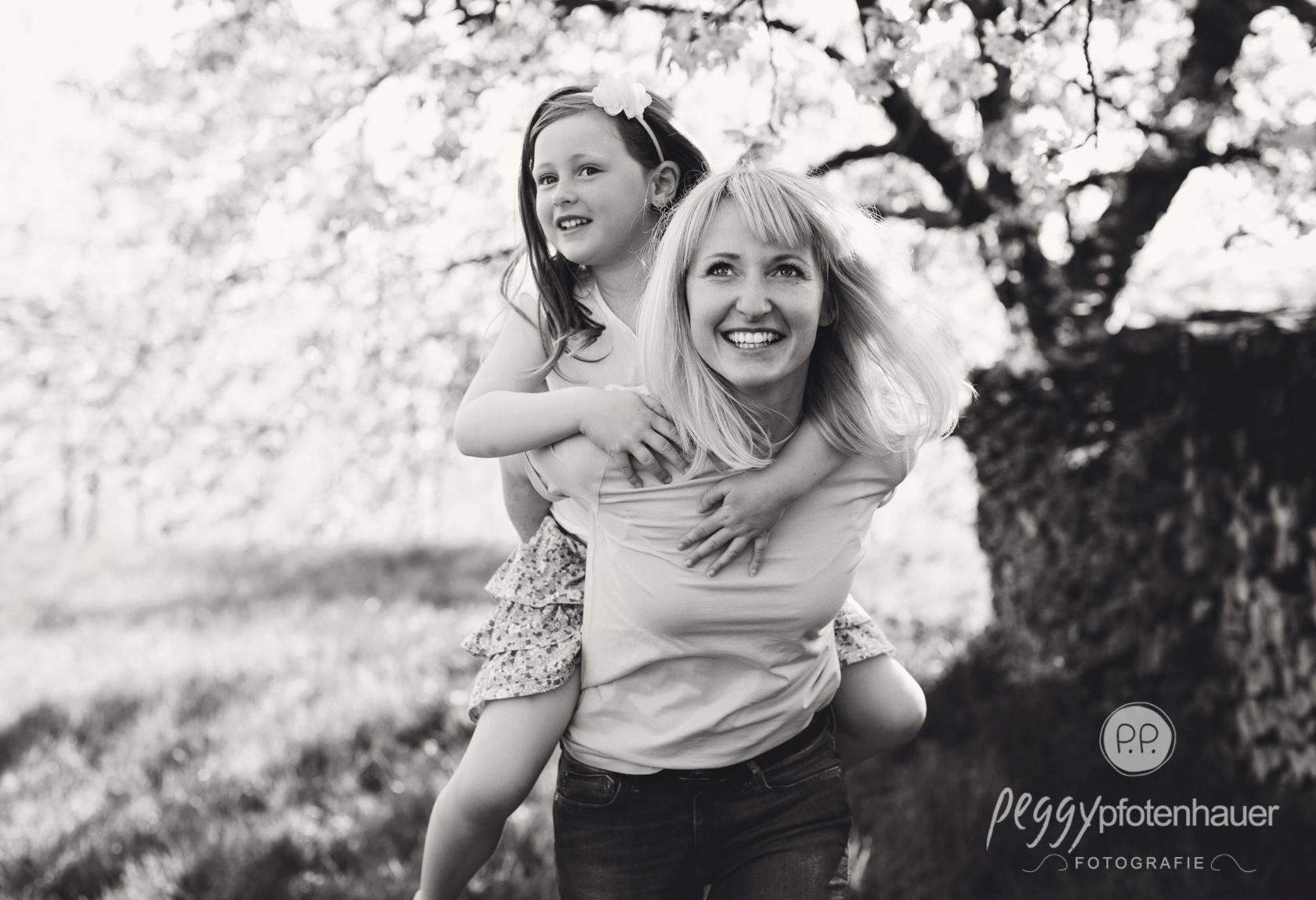 natürliche Familienfotografie Bayern