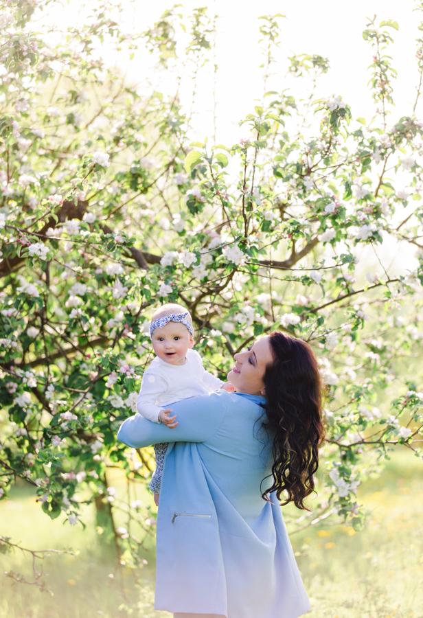 Babybilder im Frühling