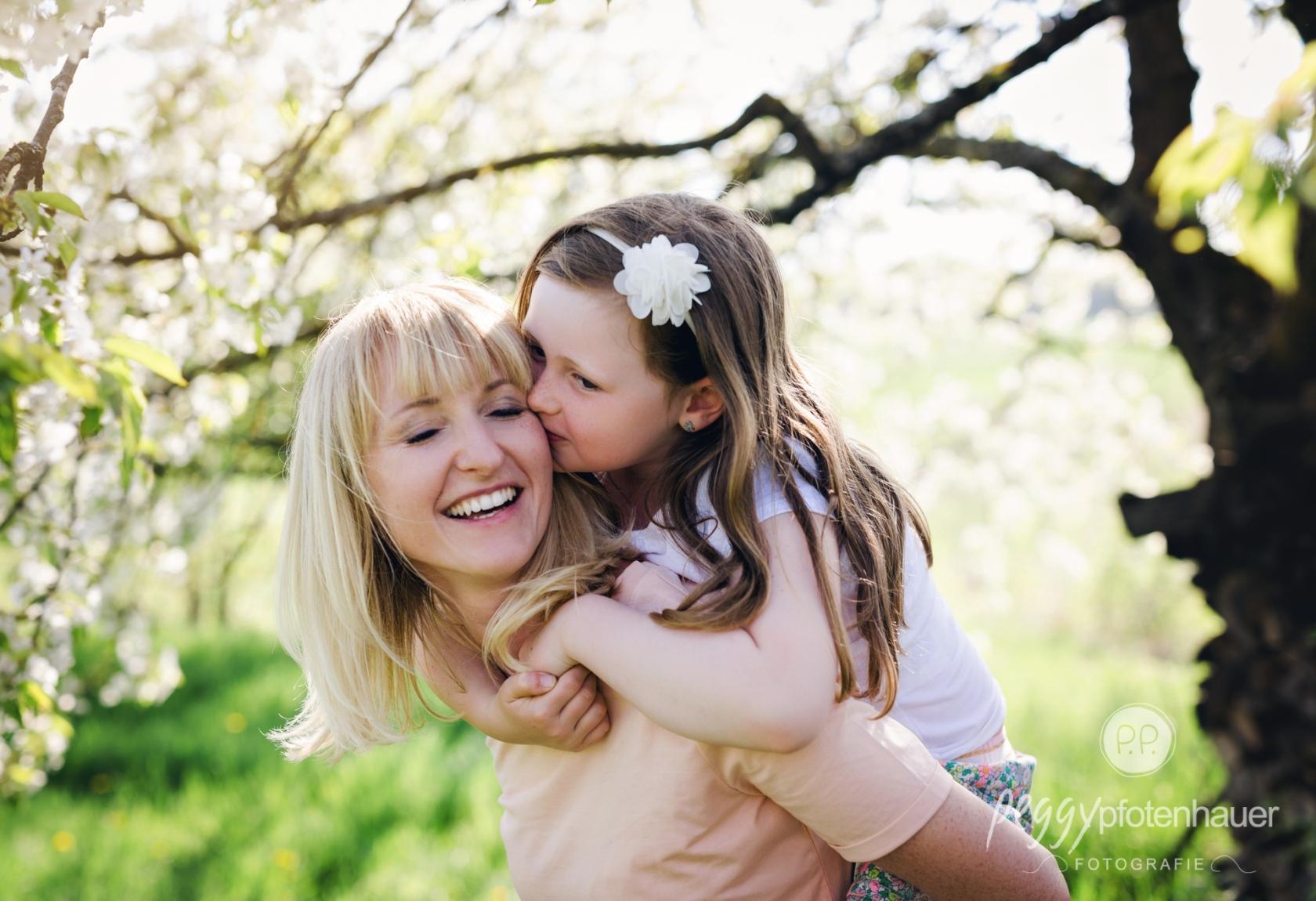Familienfotografie in der Natur