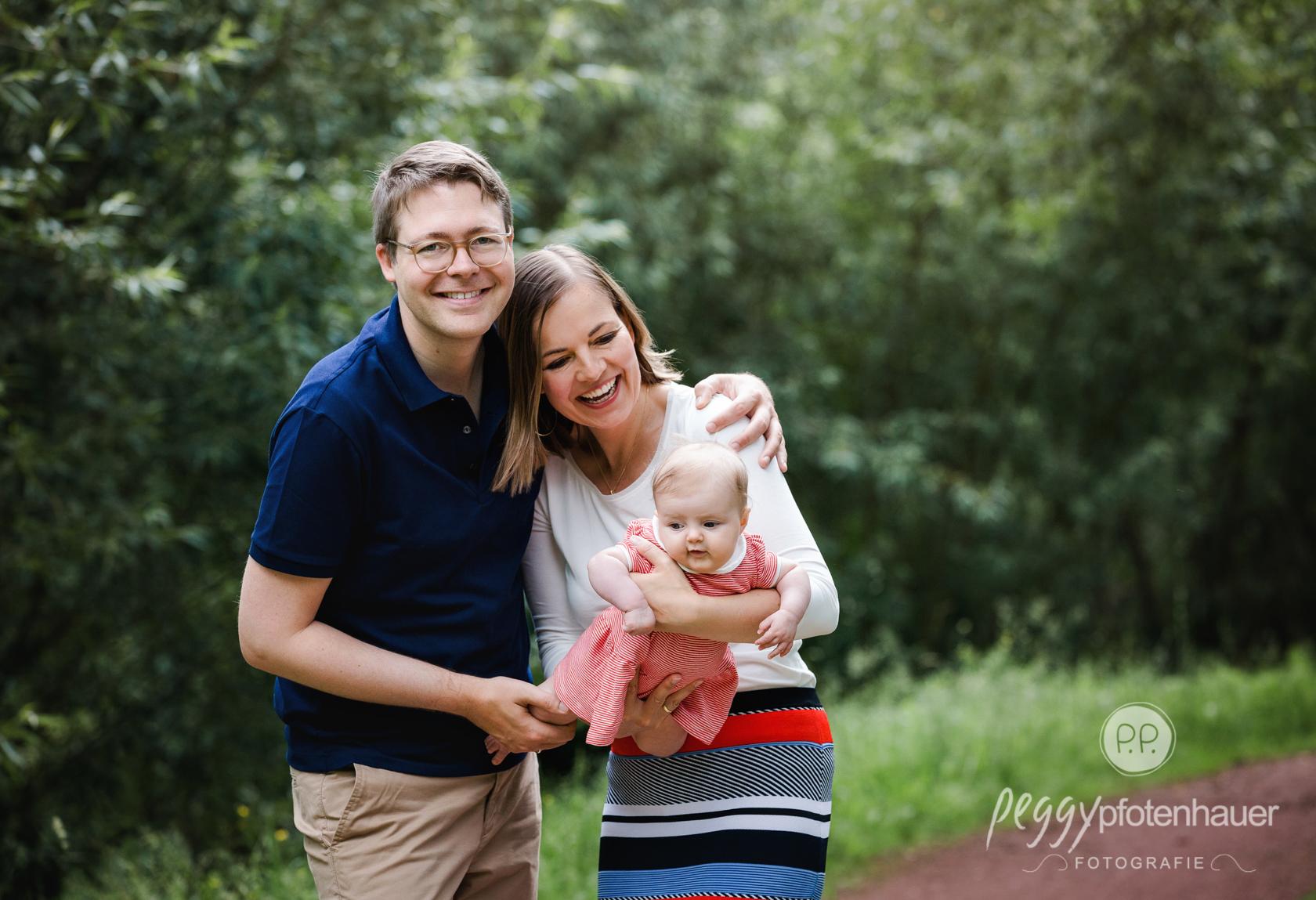 Familienbilder in der Natur