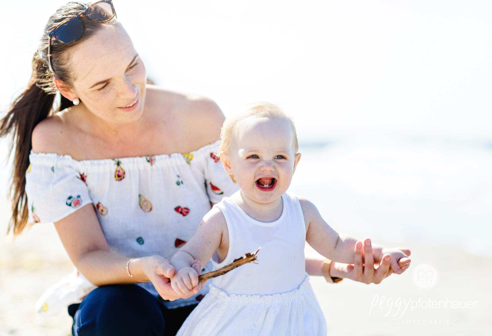 Familienphotos mit Kleinkind