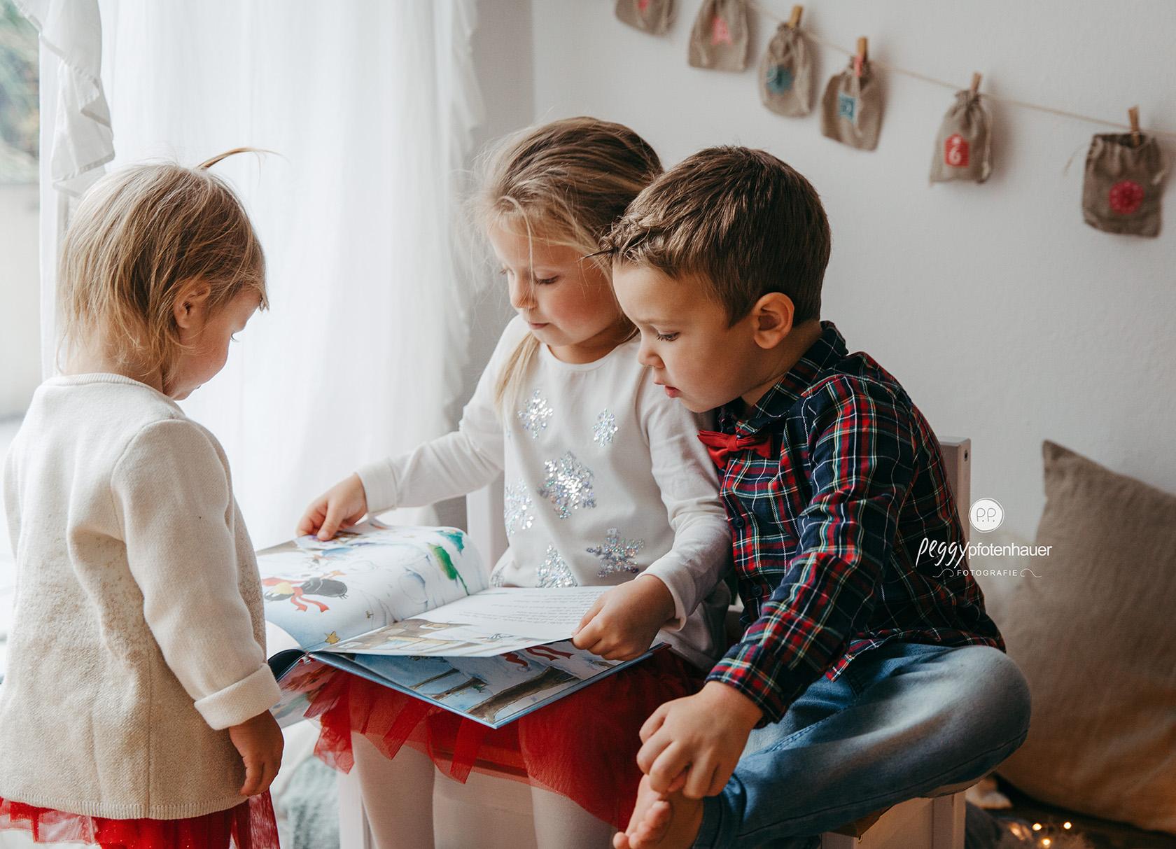 weihnachtliche Kinderbilder