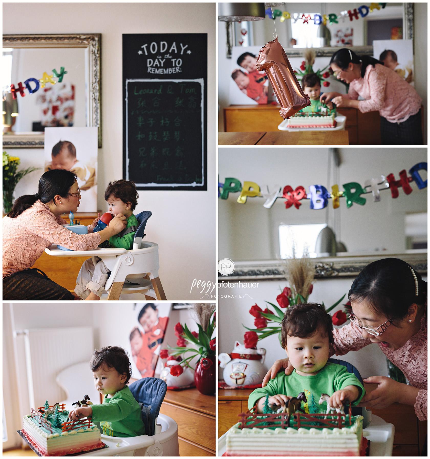 1. Geburtstag Fotoshootings