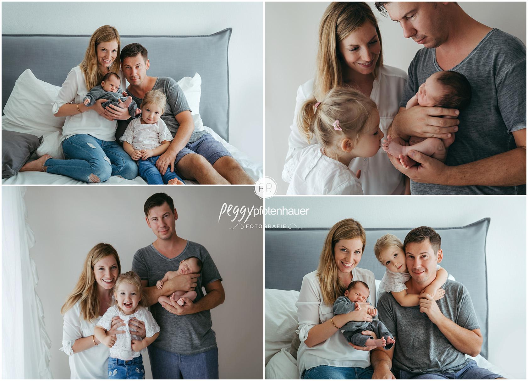 ungezwungene Familienbilder