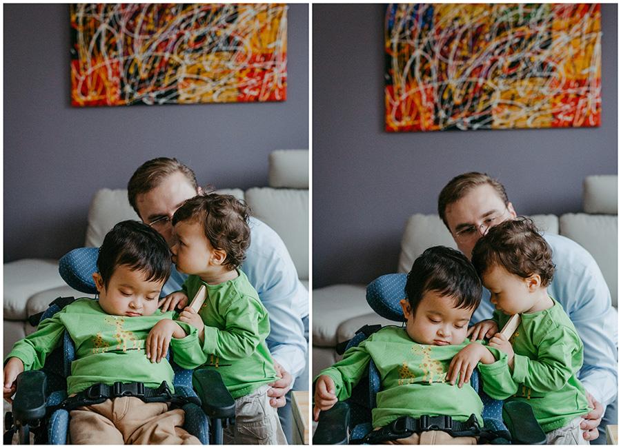 Fotoshootings im eigenen Haus