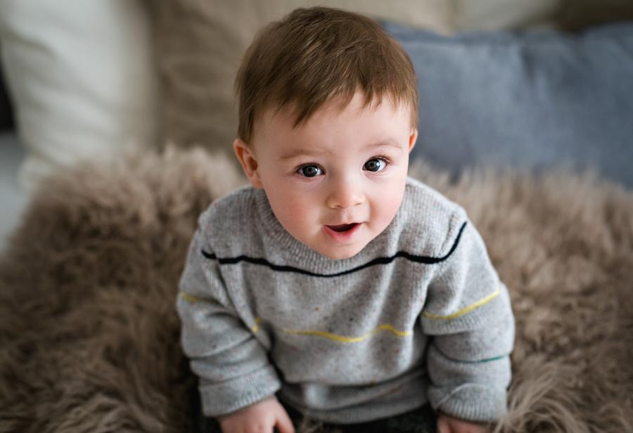 Babyfotos 6 Monate