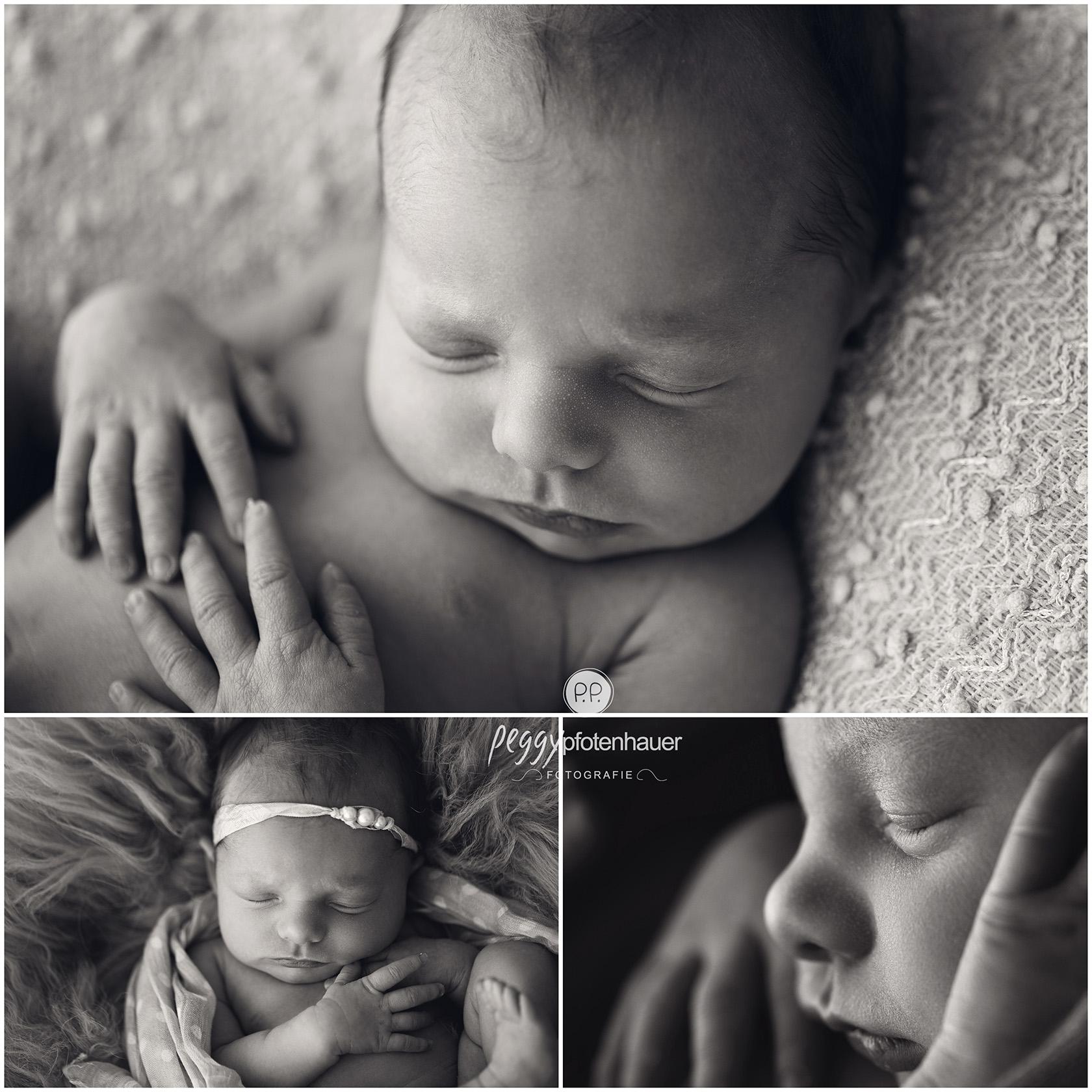 stilvolle Neugeborenenbilder