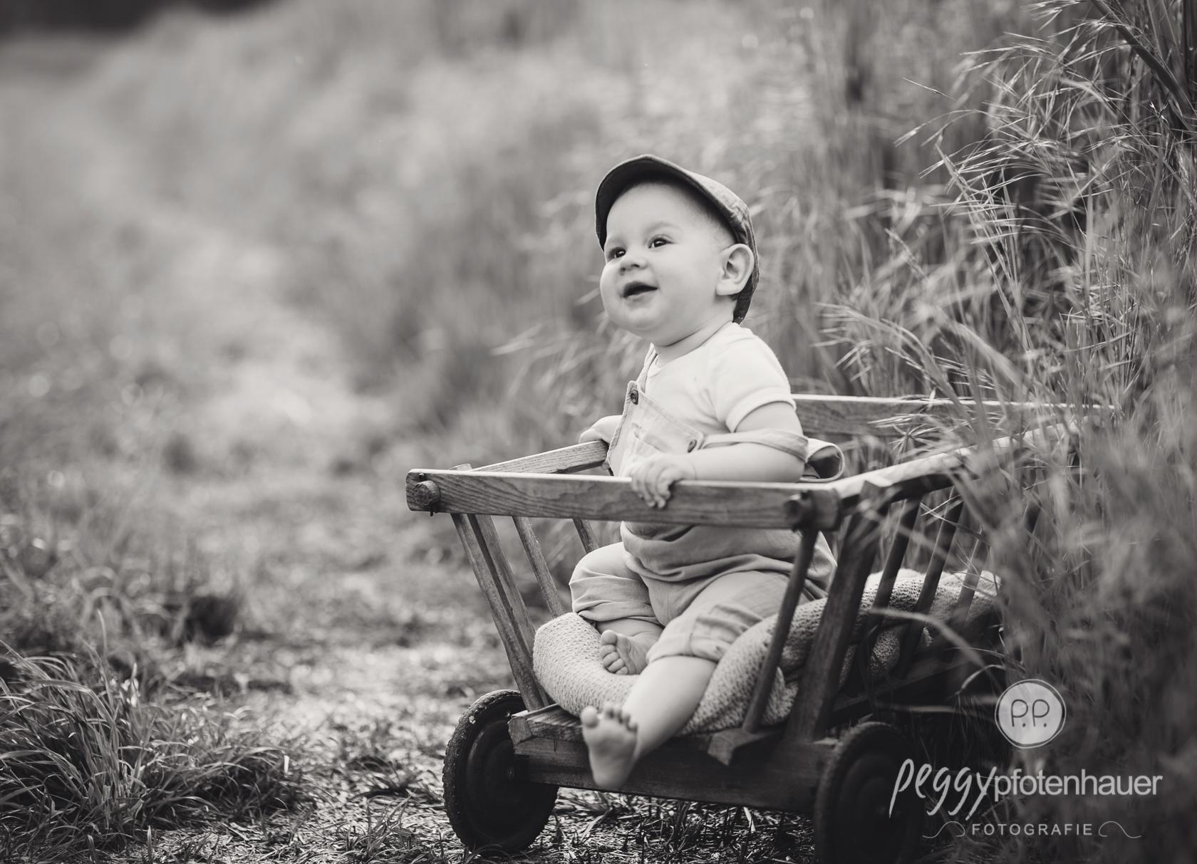 authentische Babyphotos