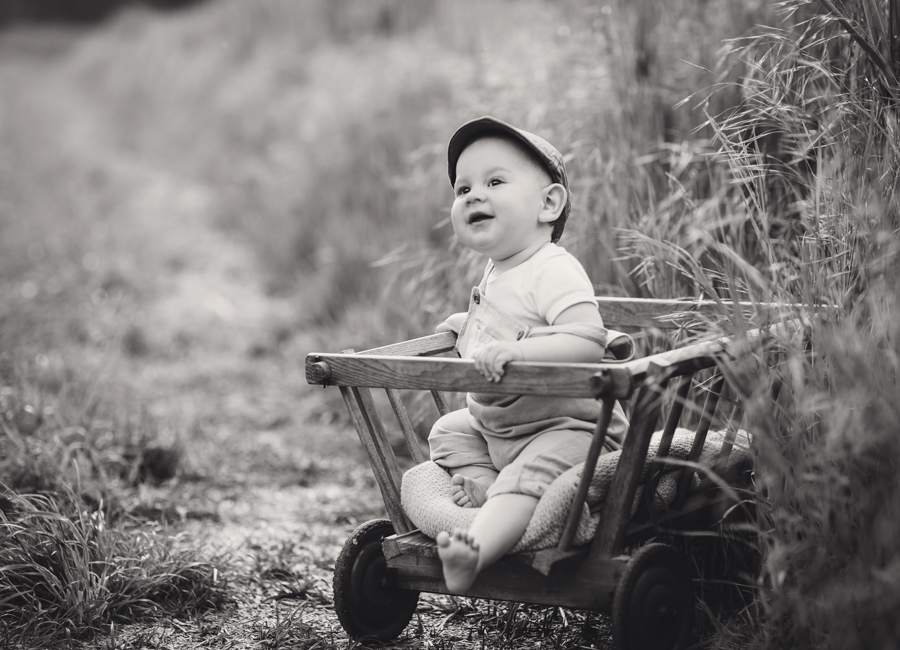natürliche Babyfotos 10 Monate