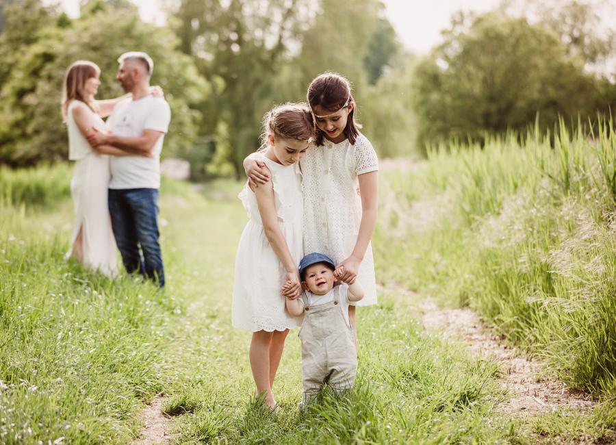 emotionale Familienfotografie