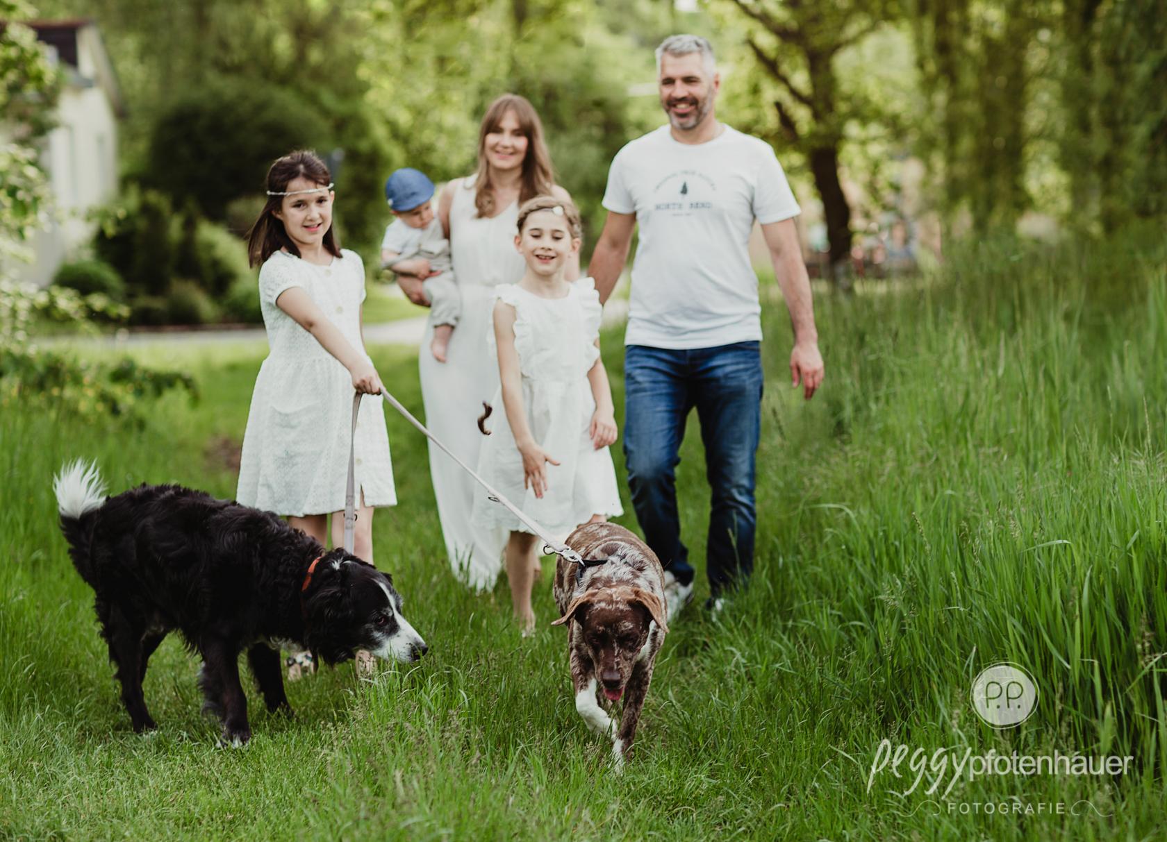 natürliche Familienfotos