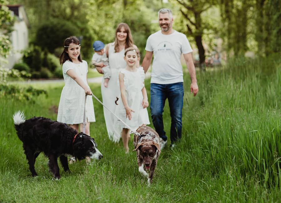 Familienbilder mit Emotion