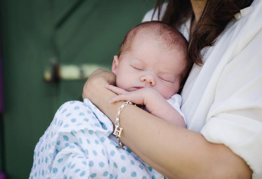 Neugeborenenbilder in der Natur