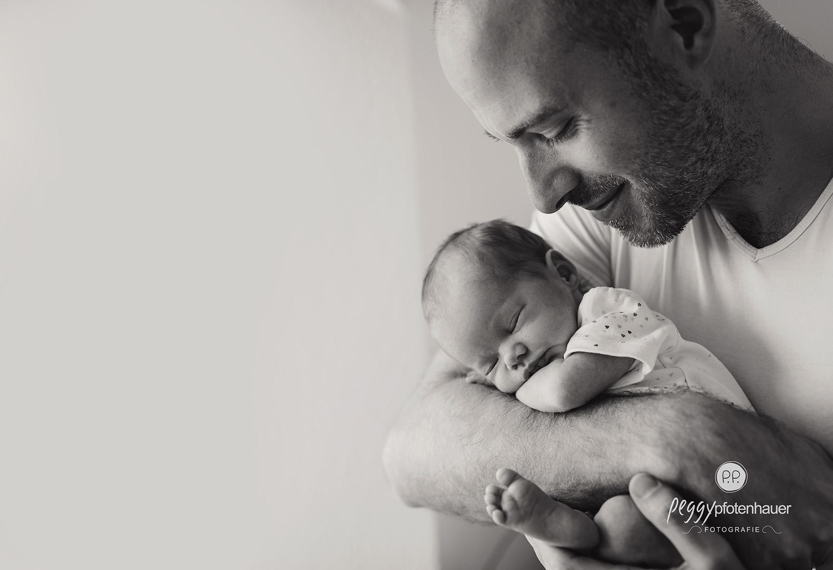liebevolle Babybilder