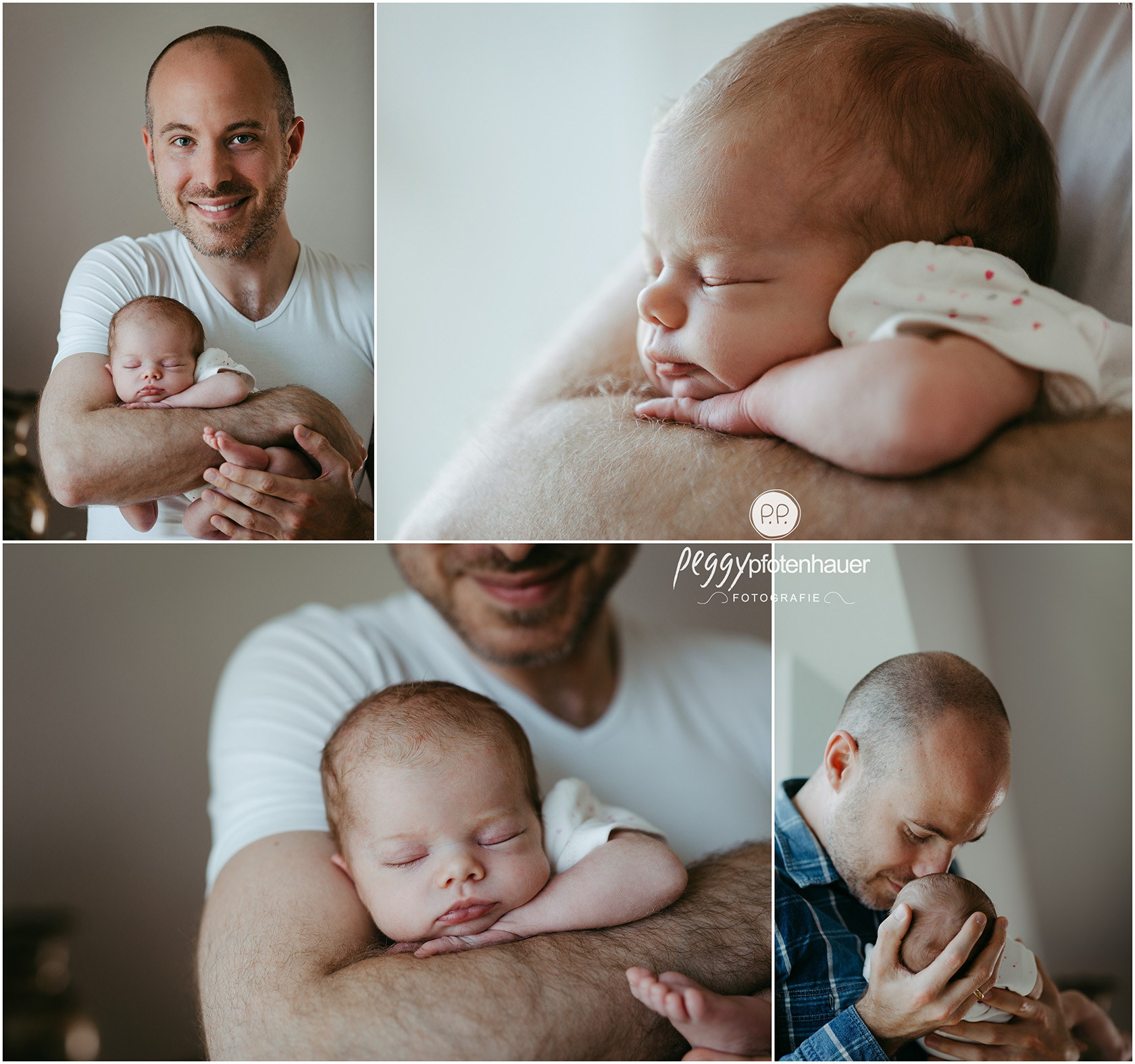 Babyfotos erste Tage