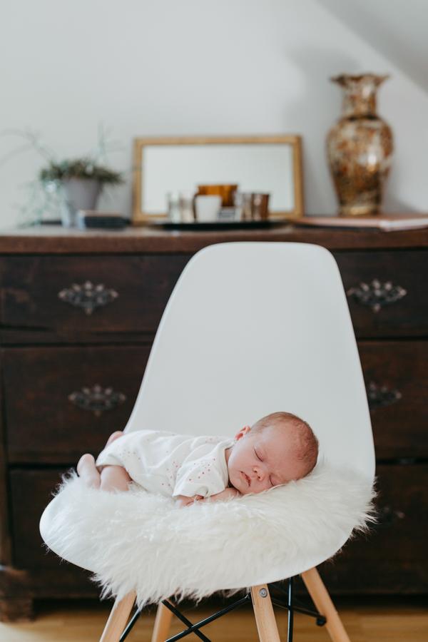 newborn zu Hause