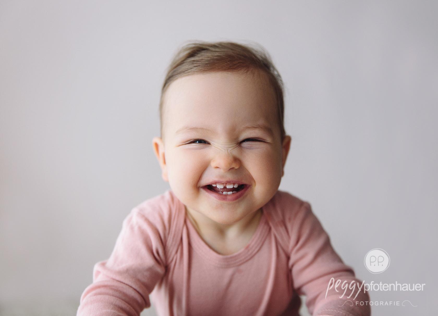 Babyfotos ein Jahr