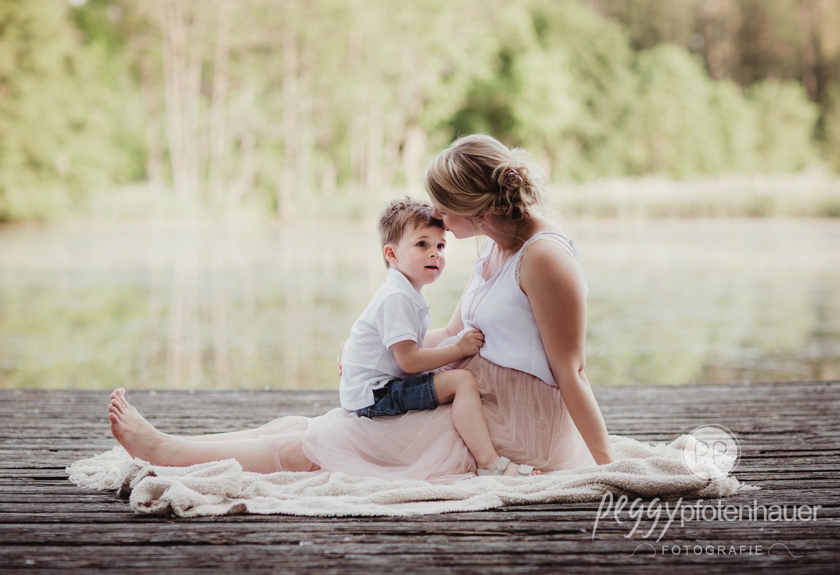 liebevolle Schwangerschaftsfotografie