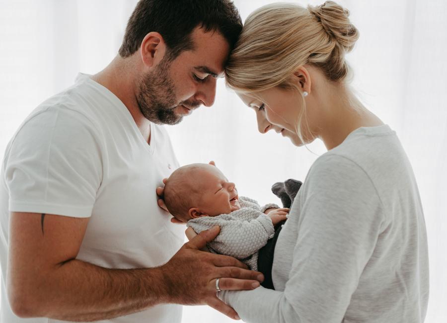 Eltern Baby Fotos