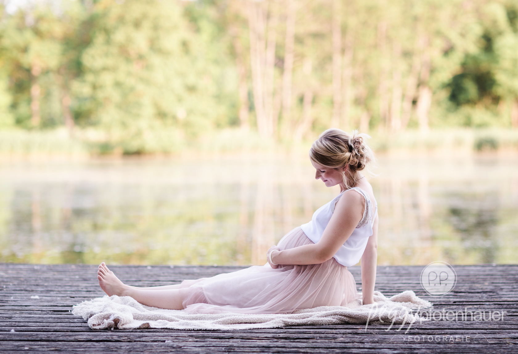 liebevolle Schwangerschaftsphotos