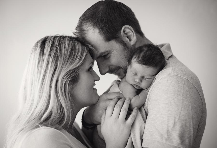 liebevolle Familienphotos