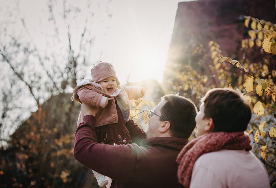 Familienphotos outdoor