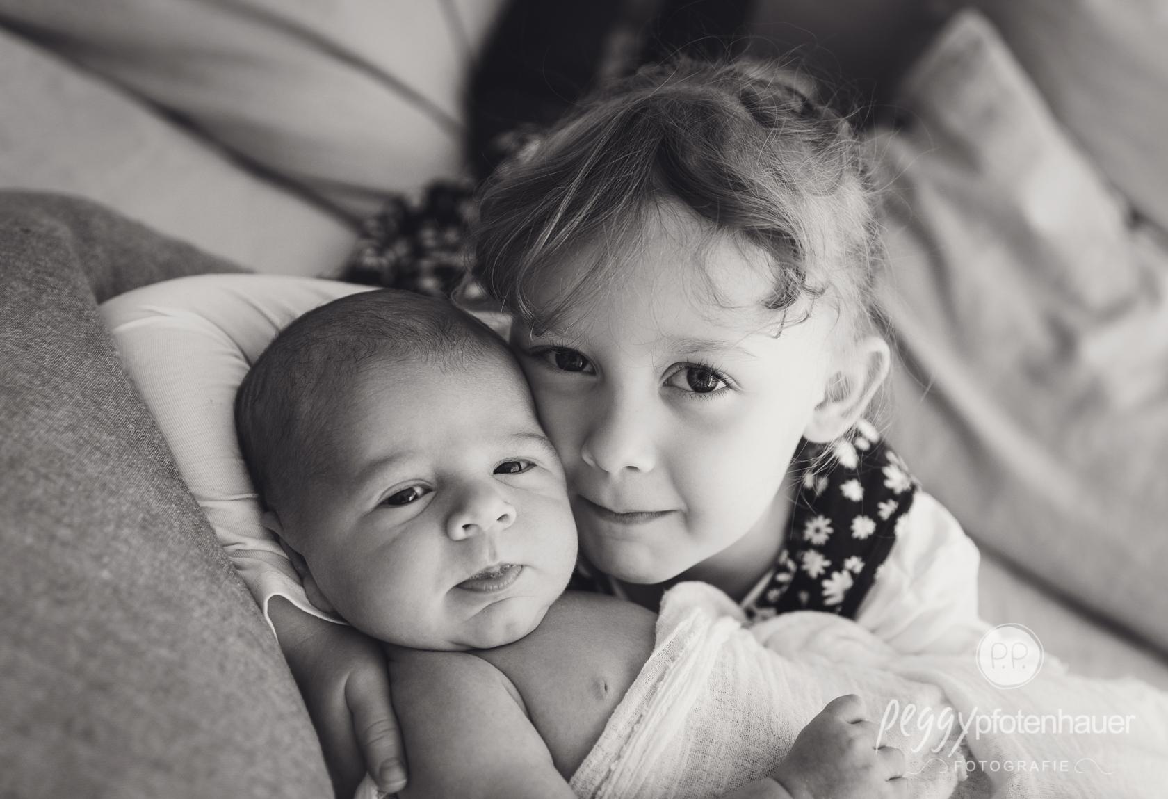große Schwester werden