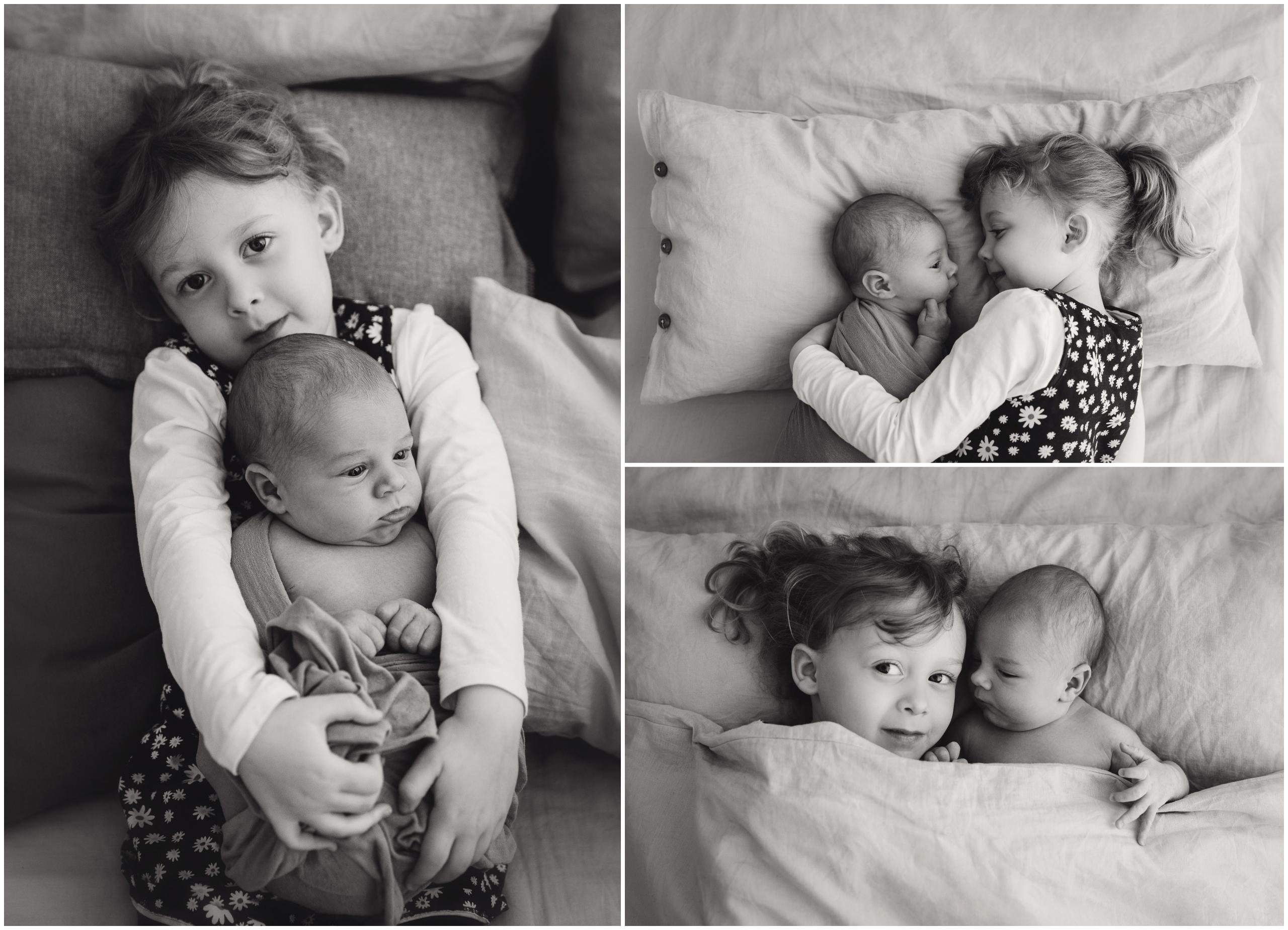 zeitlose Geschwisterfotos