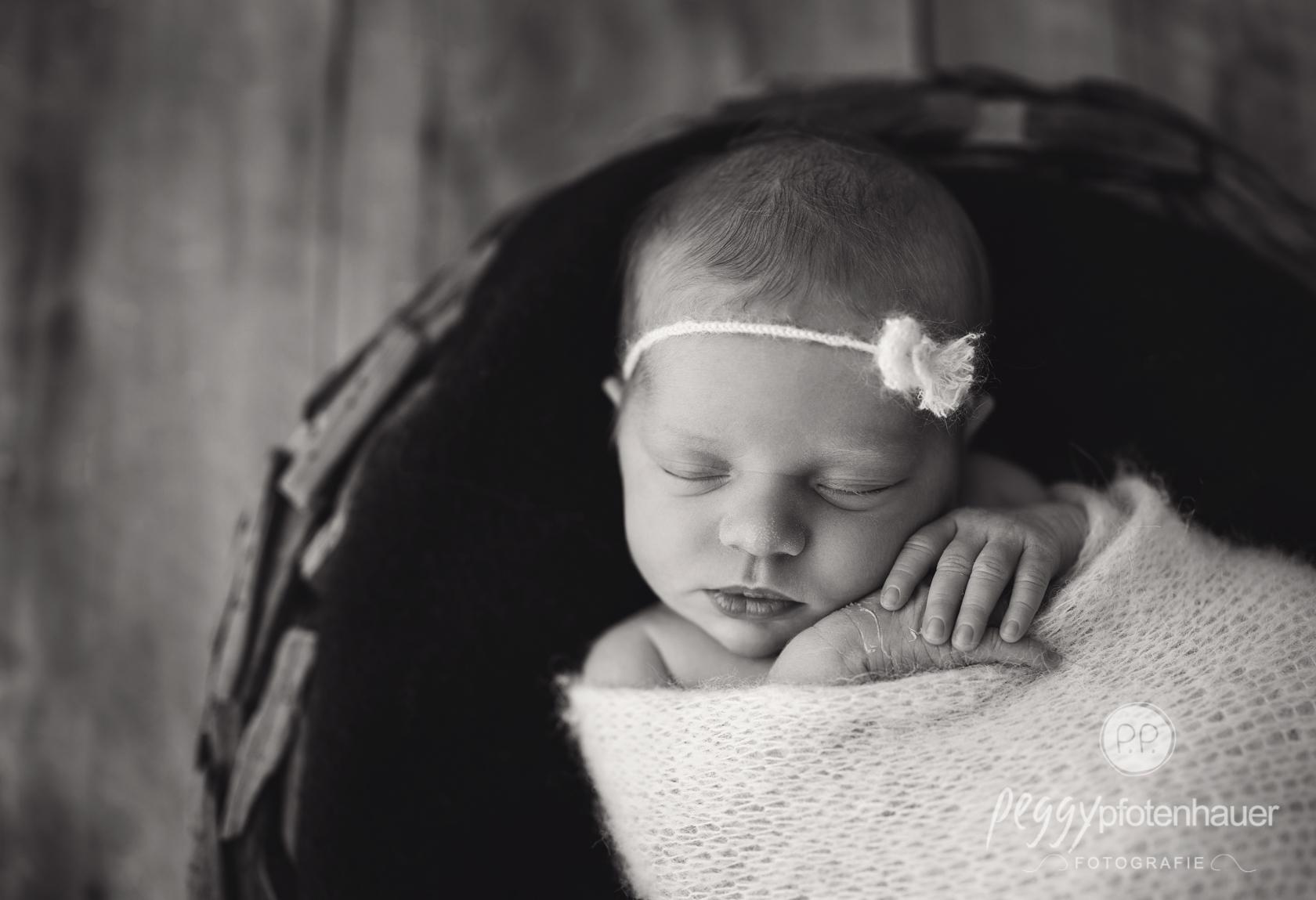 stilvolle Babyphotos