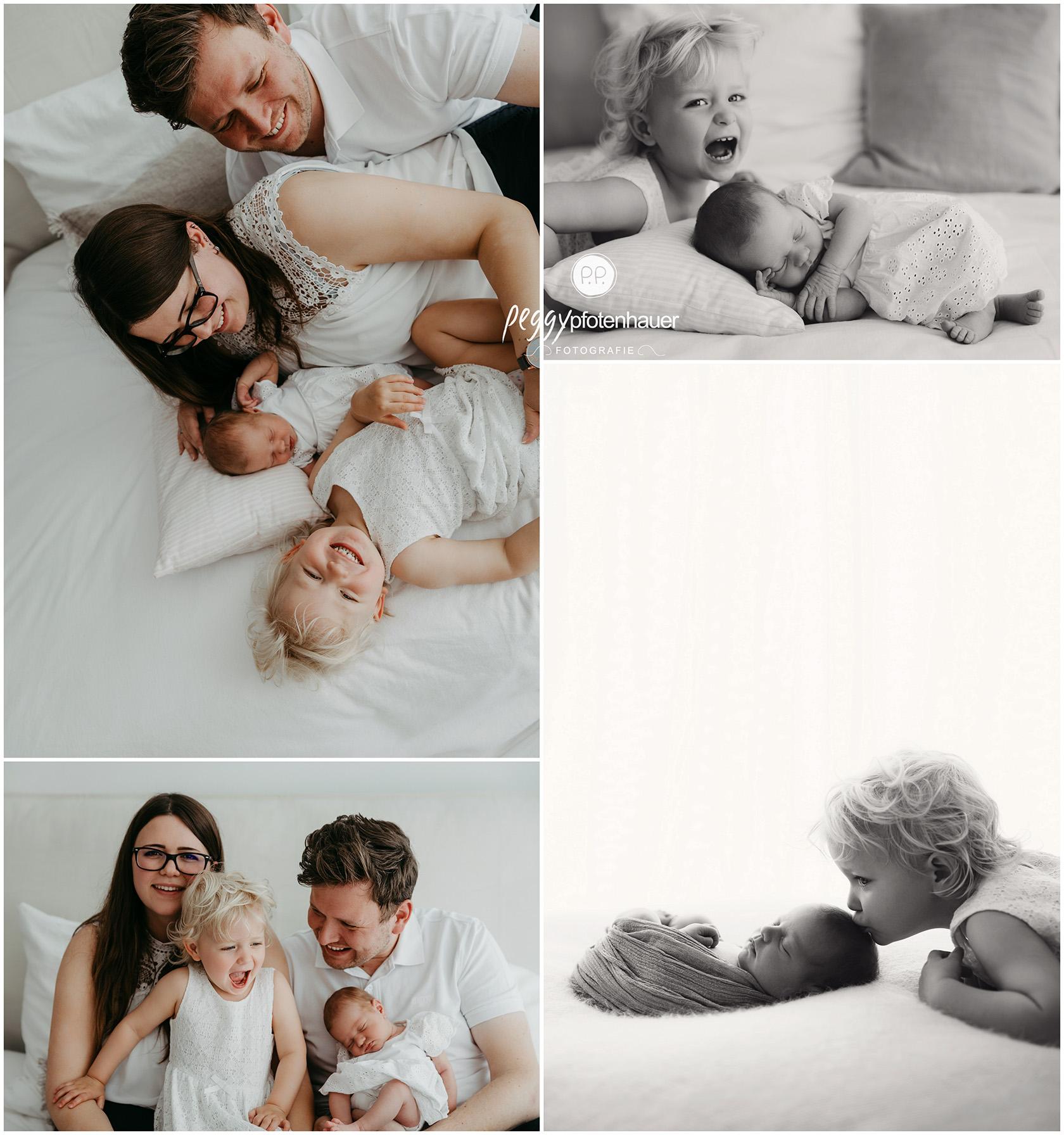 ungestellte Familienbilder