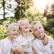 Kinderportraits in der Natur