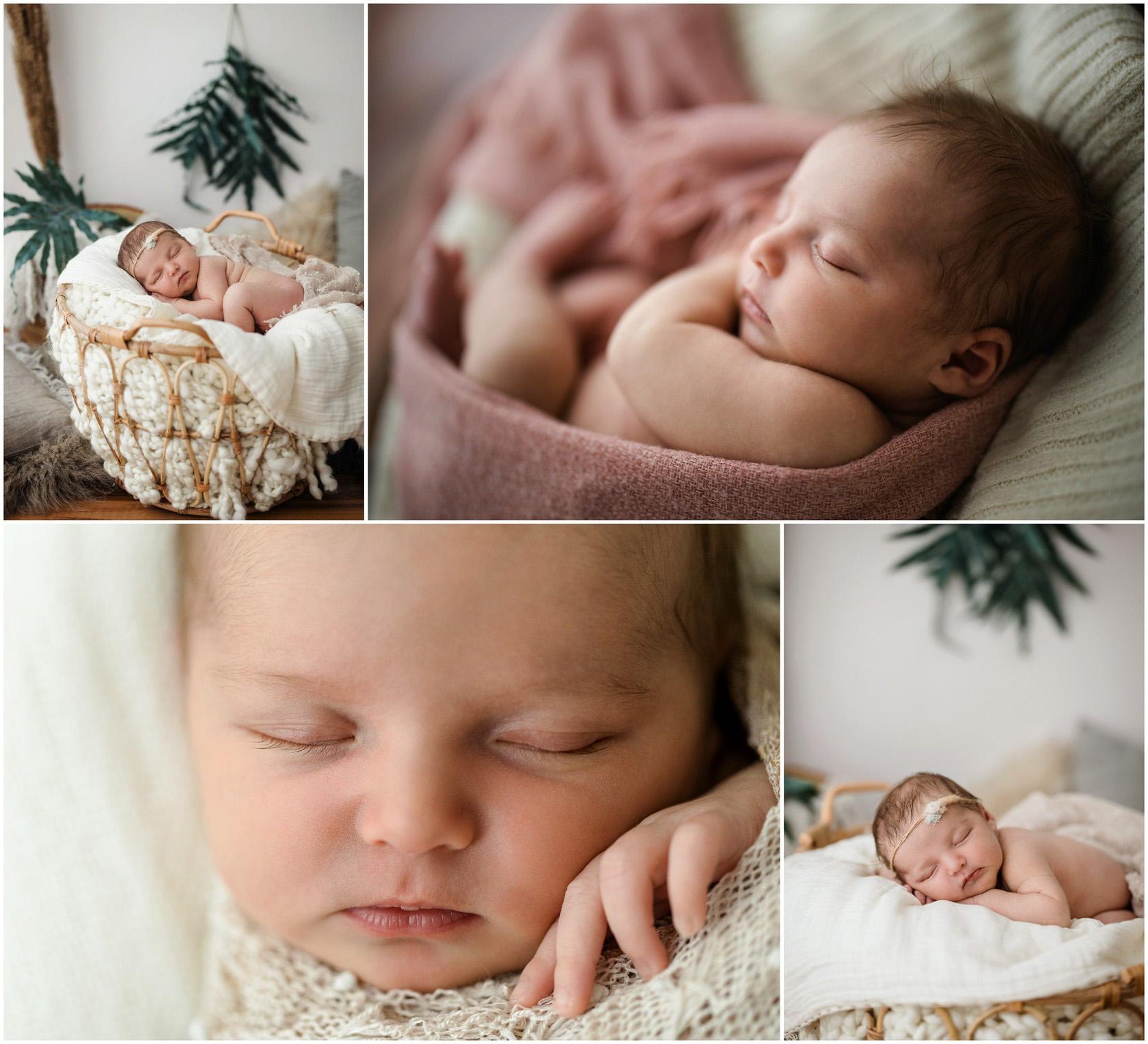Newborn Photos im Moho-Stil