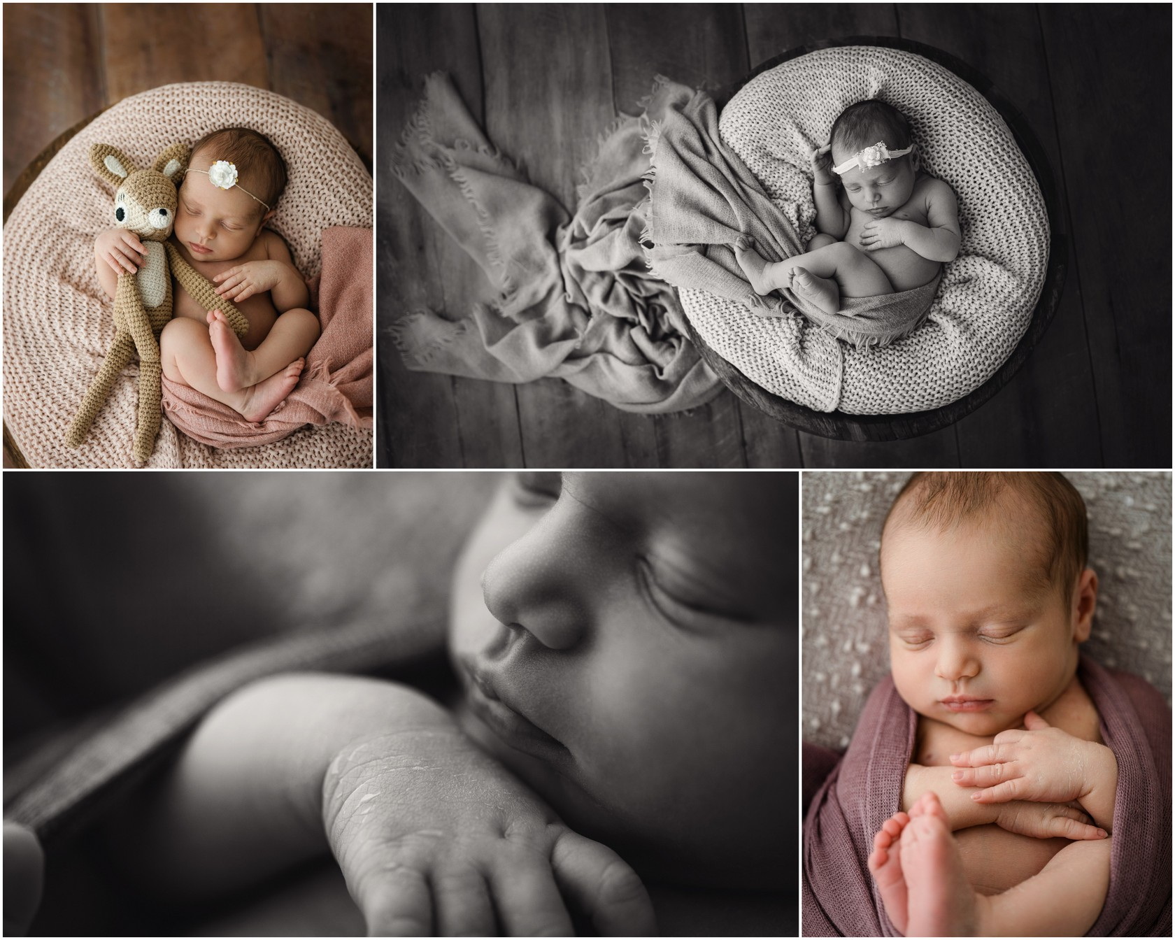 Newborn Photoshooting