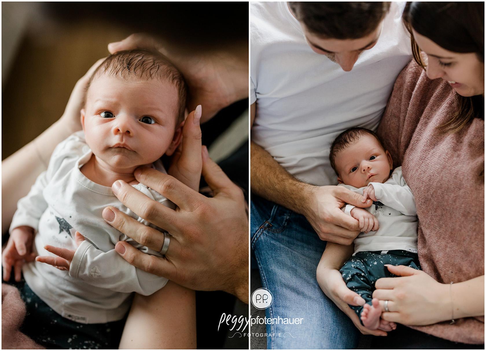 Babyfotografie zu Hause