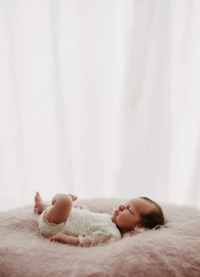 stilvolle Newborn Photos