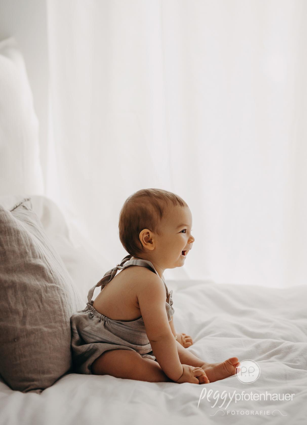 Babyfotos im Fotostudio