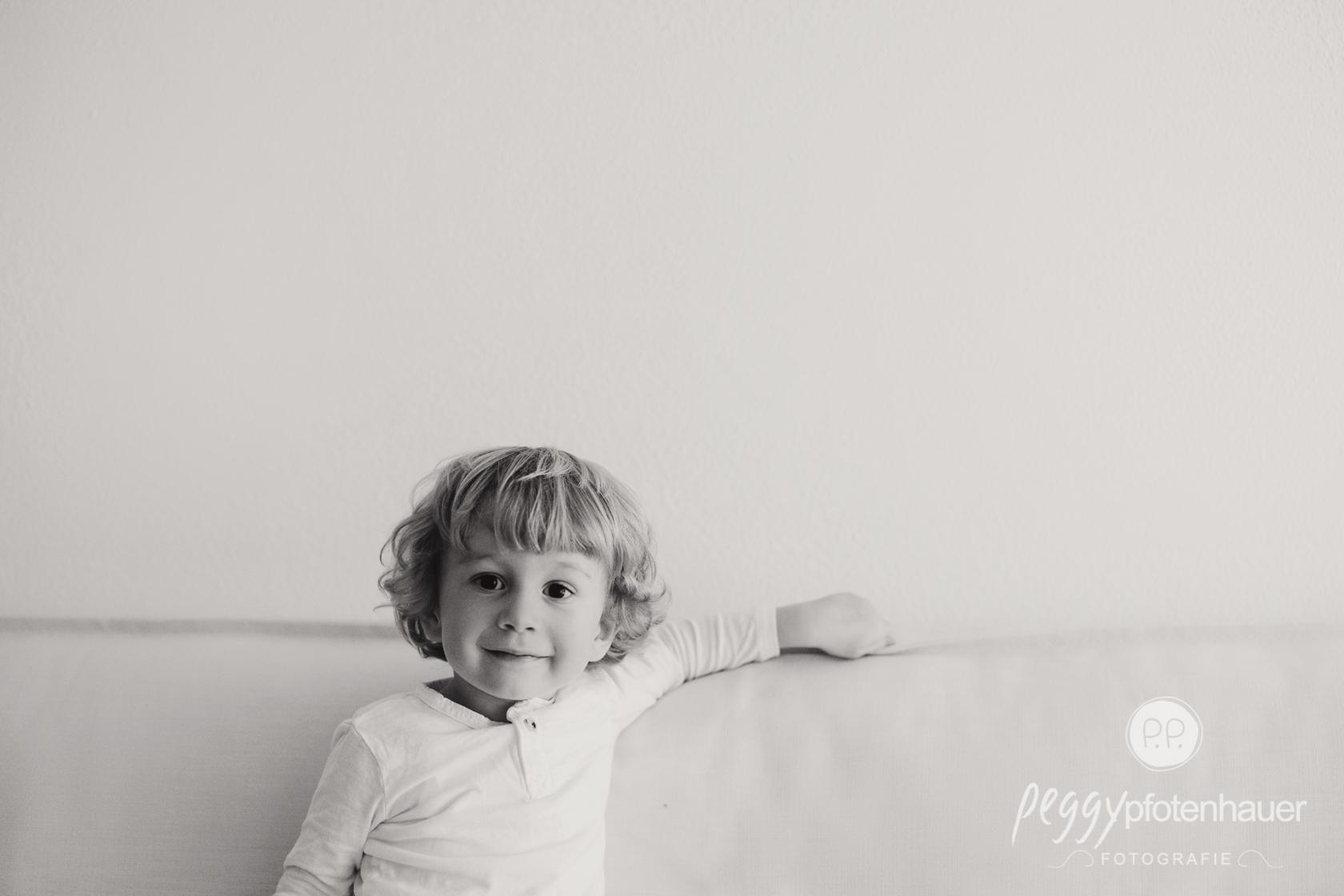 minimalistische Kinderportraits