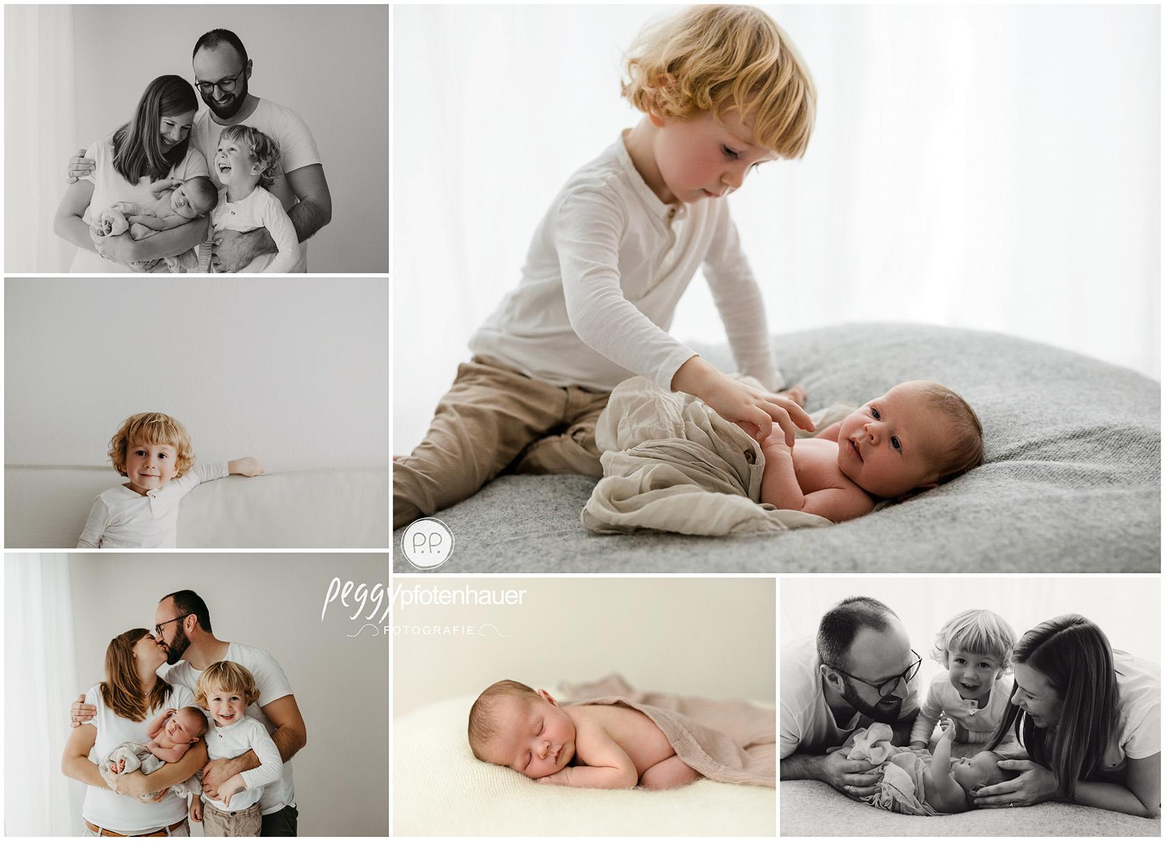minimalistische Babyfotos