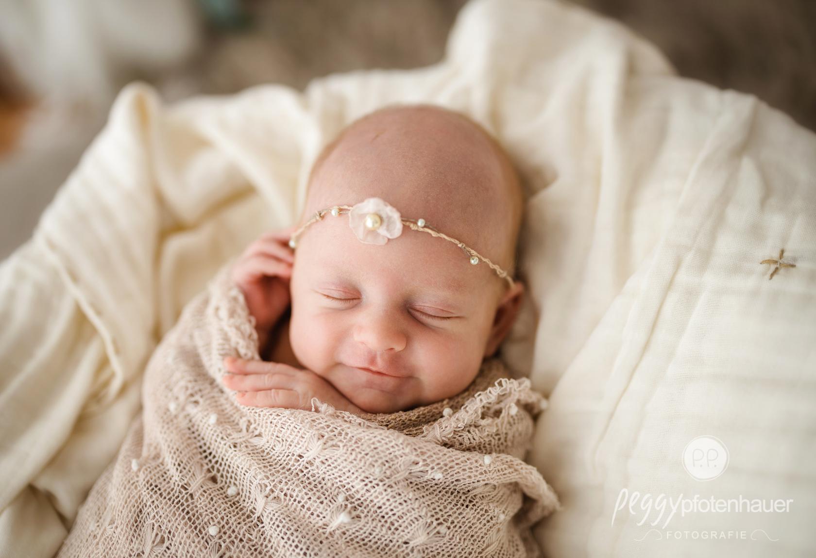 Babyfotos Boho